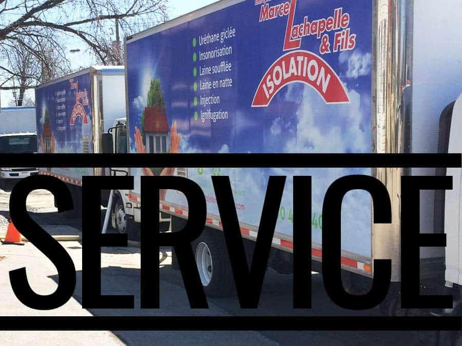 Service professionnel en isolation de bâtiment et de maisons